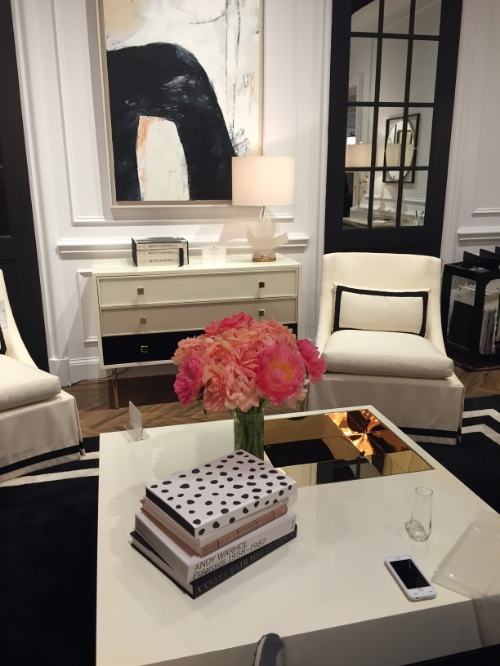 The Kate Spade Home Collection Showroom was the perfect spot for a festive cocktail party!